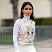 Miroslava Duma, fashion girl