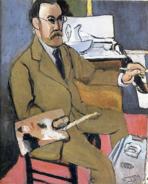 Henri Matisse Self-portrait