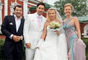 Ilya Kovalchuk and his wife Nicole Ambrazaytis