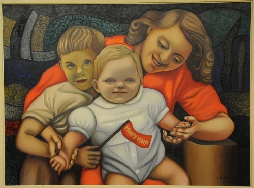 Nadezhda Leger – Motherhood