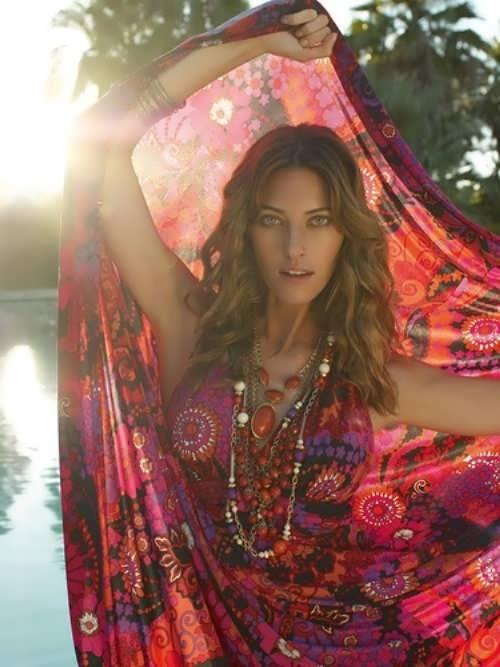 Nadezhda Savkova Russian fashion model
