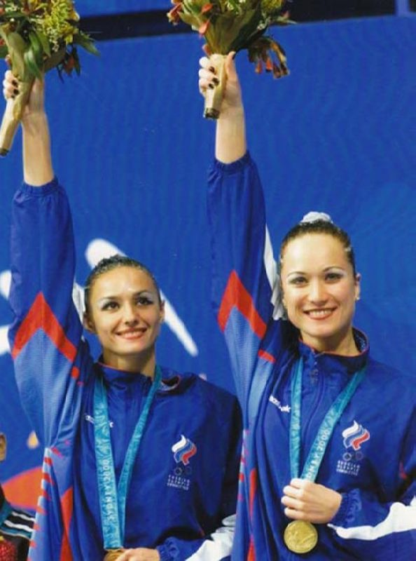 Maria Kiseleva, synchronized swimmer