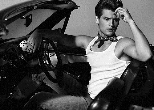 Vladimir Ivanov – Russian fashion model