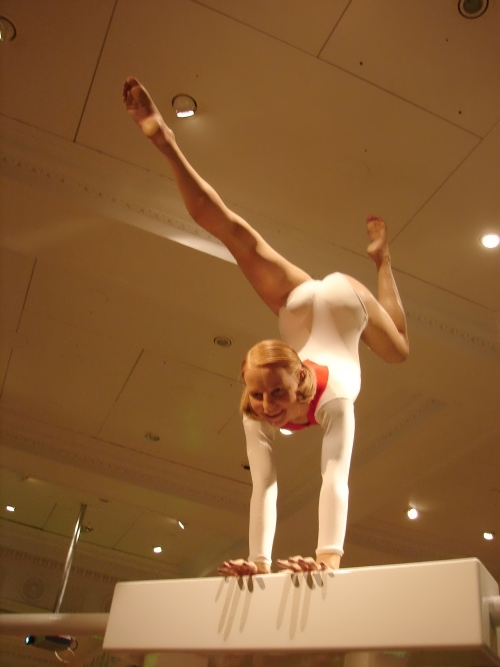 korbut wax figure