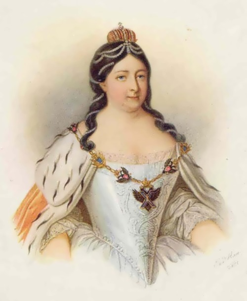 Romanova Anna ruler of Russia