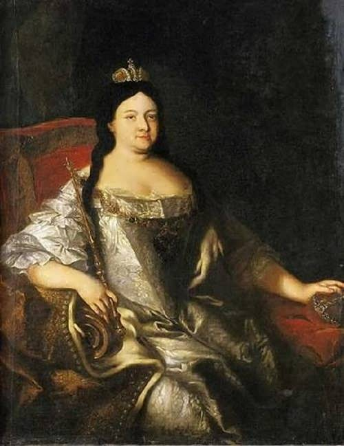 Anna Ioannovna - Russian Tsaritsa