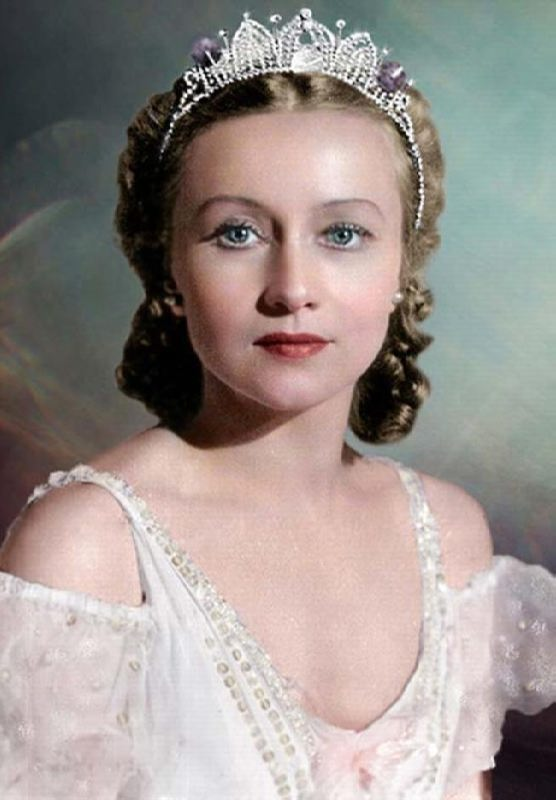 Galina Ulanova, great Russian dancer