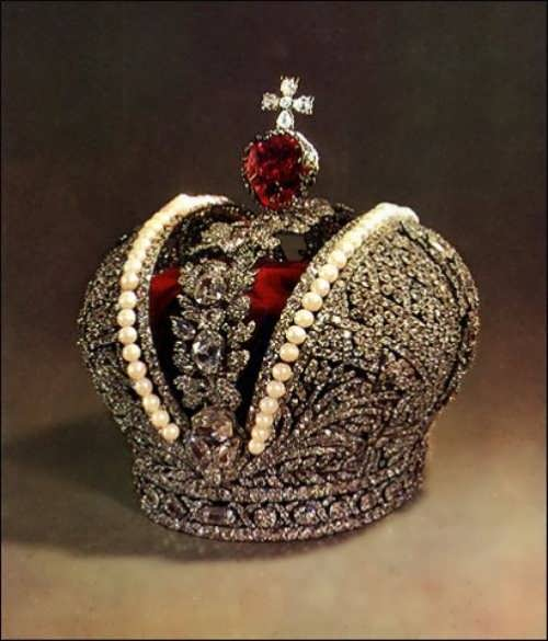 The crown of Catherine II