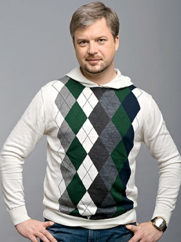 Valdis Pelsh, Russian TV presenter from Riga