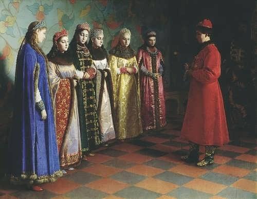 Tsar Alexey is Choosing the bride