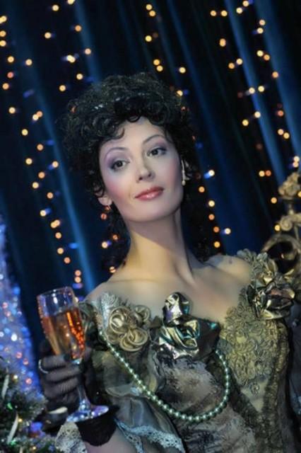 Charming Russian actress Lidiya Velezheva