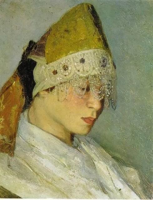 Portrait of M. Nesterova
