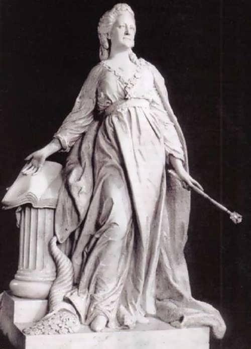 Marble statue Catherine II