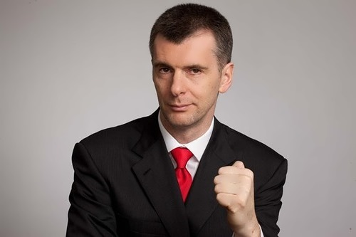 Prokhorov Mikhail businessman