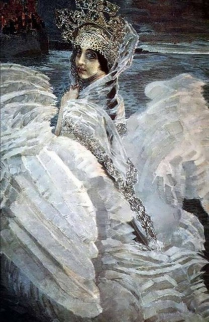 Mikhail Vrubel. The Swan Princess