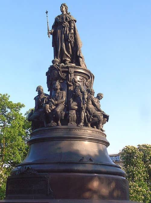 Monument Catherine the Great