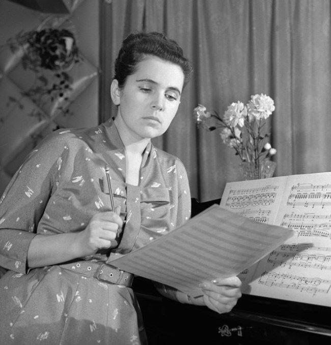 Galina Vishnevskaya and Mstislav Rostropovich