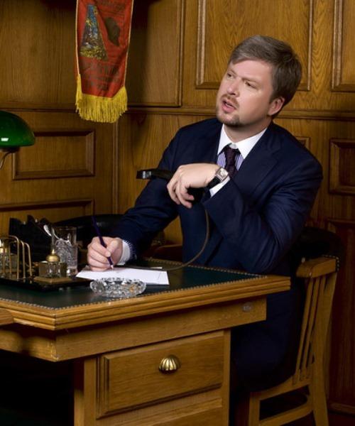 Valdis Pelsh, Russian TV presenter from Riga