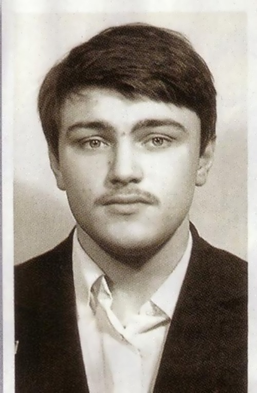 Turchinskiy in his youth