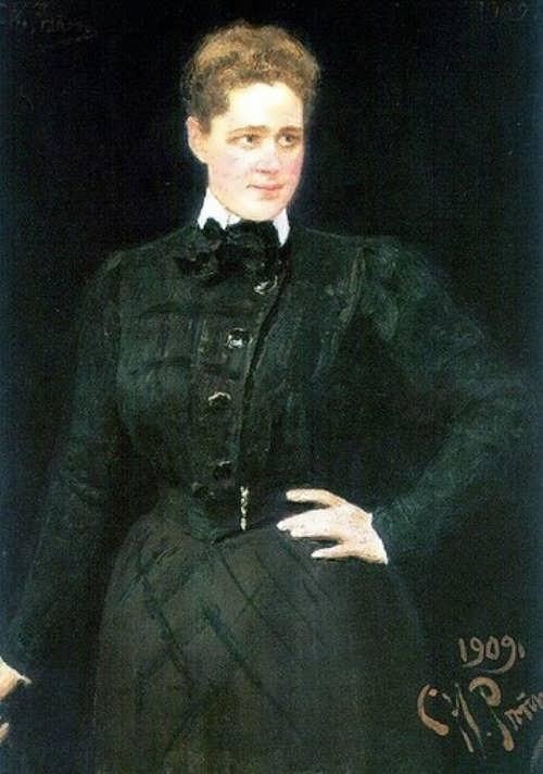 Sofia Panina by Ilya Repin, 1909