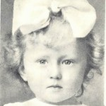 Ulanova in her childhood