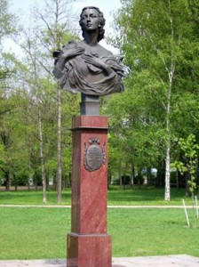 Memorial to Ulanova