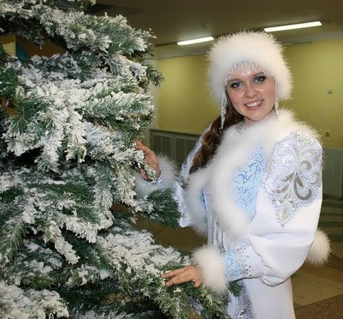 The best Snegurochka Anastasia Komorina