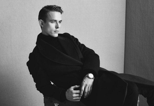 Kirill Vasilev, fashion model