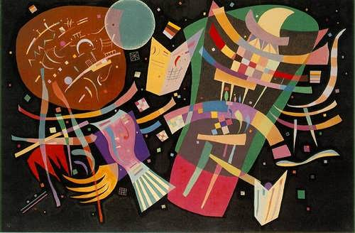 Composition X kandinsky