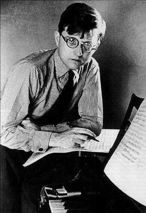 Dmitri Shostakovich prominent composer