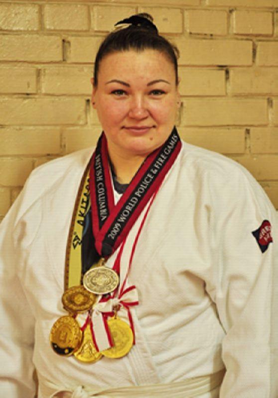 Olesya Kovalenko, sumo wrestler