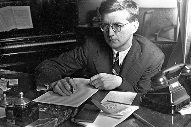 Dmitri Shostakovich – prominent composer
