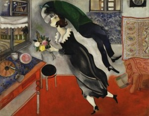 Marc Chagall's Painting Birthday