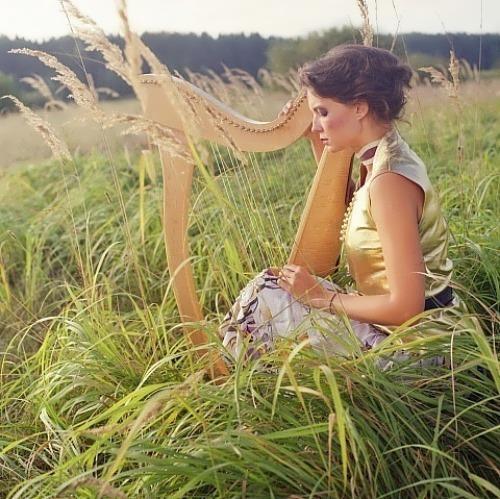 oshea natalia russian harpist