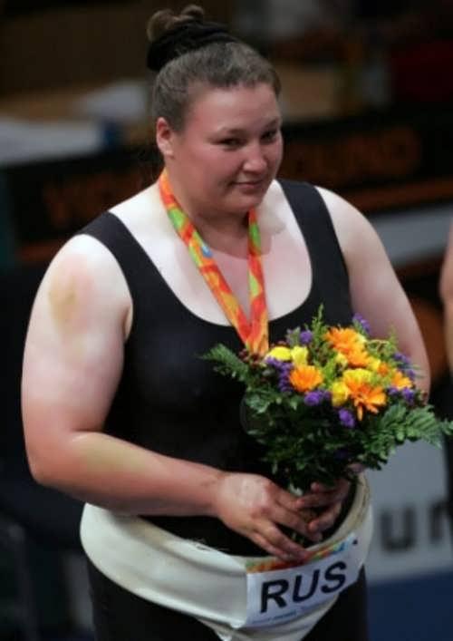 Kovalenko Olesya sumo wrestler