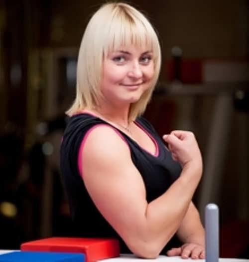 Olga Gavrilova, World Arm Wrestling Champion