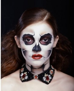Glamorous Halloween by Russian makeup artist Olga Pristash
