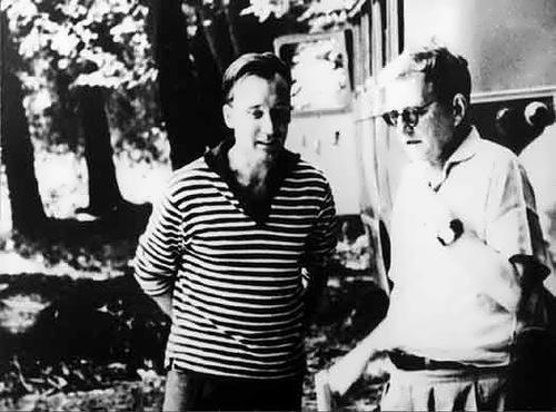 Schostakowitsch and Shchedrin