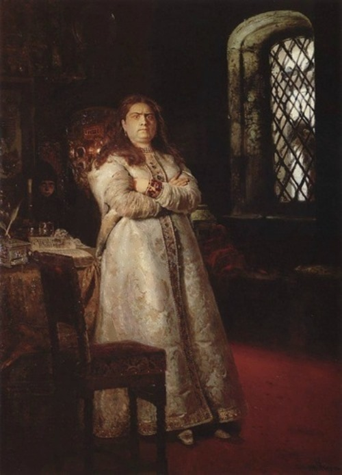 Sofia Alekseevna by Ilya Repin