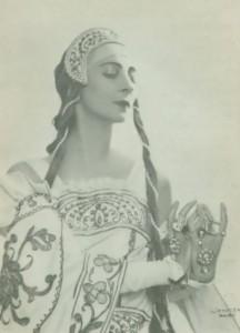 Spessivtseva Olga famous ballerina