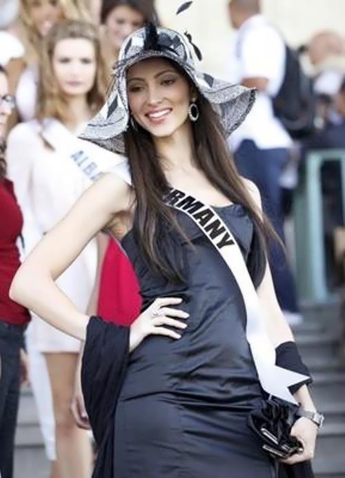 Bystritskaya Valeria miss Germany