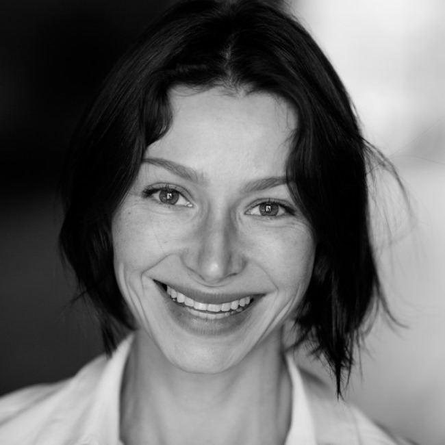 Elena Polyakova, film actress