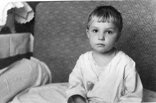 ostroumova childhood