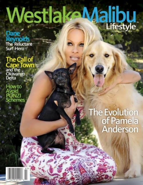Anderson Pamela cover girl