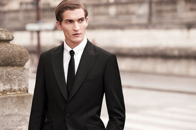 Matvey Lykov, male fashion model