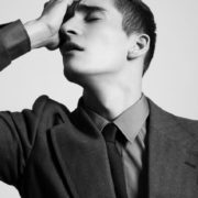 Matvey Lykov, male fashion model