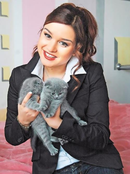 Borodina Ksenia presenter