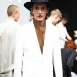 Awesome male fashion model Matvey Lykov