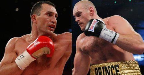 Klitschko vs Tyson Fury