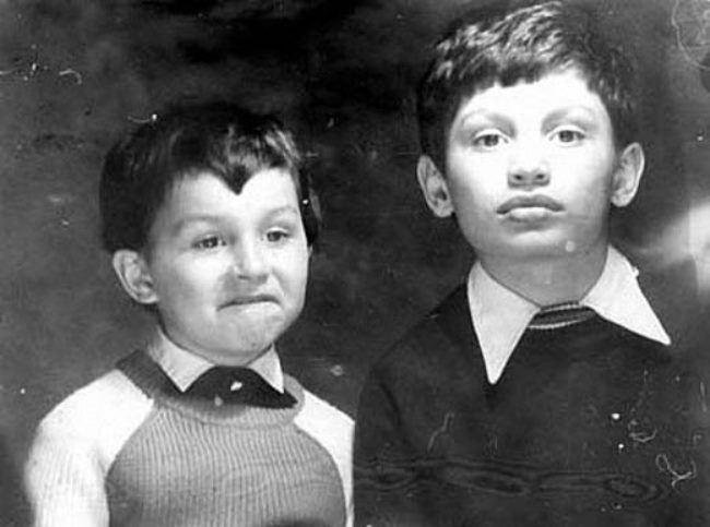 Little Klitschko brothers